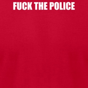 FUCK THE POLICE - Men's T-Shirt by American Apparel