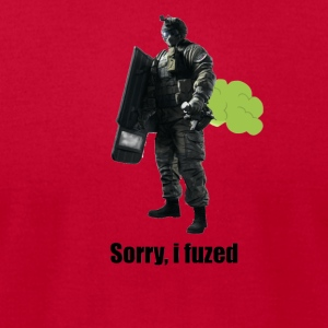 sorry i fuzed - Men's T-Shirt by American Apparel