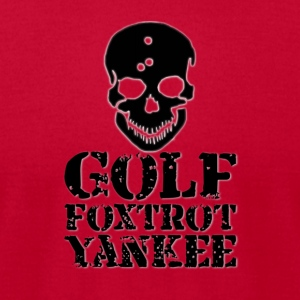 Golf Foxtrot Yankee - Men's T-Shirt by American Apparel
