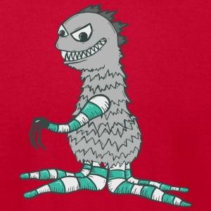 godzilla tee - Men's T-Shirt by American Apparel