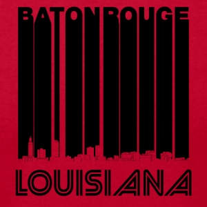 Retro Baton Rouge Louisiana Skyline - Men's T-Shirt by American Apparel