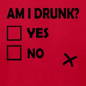 Am I Drunk - Men's T-Shirt by American Apparel