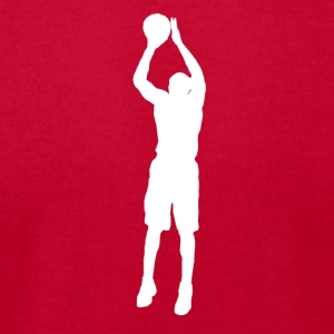 Basketball Player - Men's T-Shirt by American Apparel