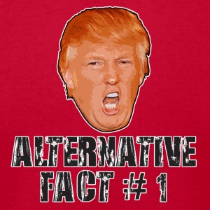Alternative Fact # 1 - Men's T-Shirt by American Apparel