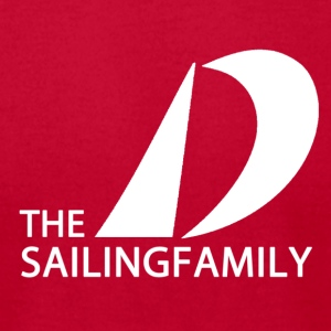 TheSailingFamily - Men's T-Shirt by American Apparel