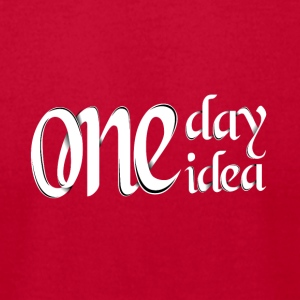 ONE DAY ONE IDEA - Men's T-Shirt by American Apparel