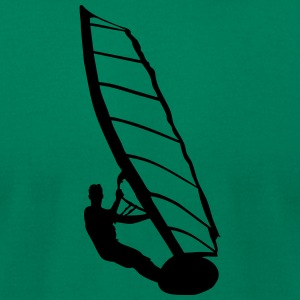 Windsurfer - Men's T-Shirt by American Apparel