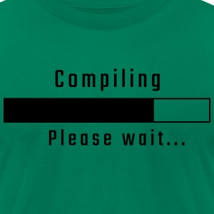 Compiling - Please wait - Men's T-Shirt by American Apparel