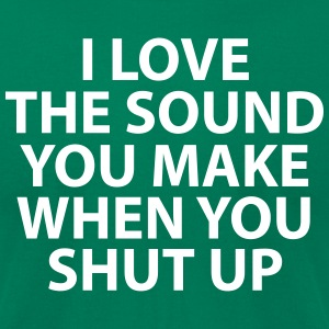 I Love The Sound - Men's T-Shirt by American Apparel