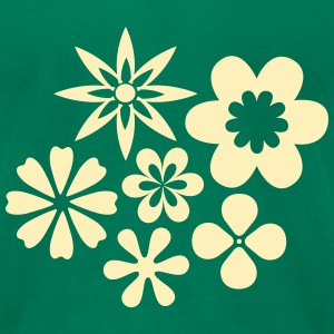 Flower Power - Men's T-Shirt by American Apparel