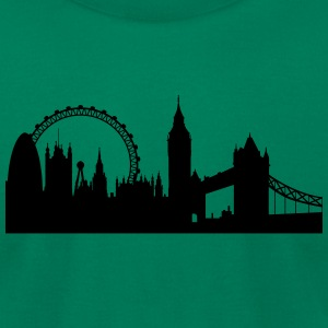 london silhouette 2 - Men's T-Shirt by American Apparel