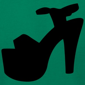 Vector high heels shoes Silhouette - Men's T-Shirt by American Apparel