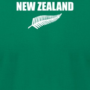 New Zealand - Men's T-Shirt by American Apparel