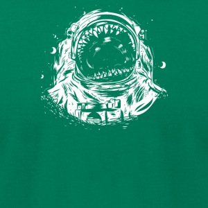 Crowd Spaceman - Men's T-Shirt by American Apparel