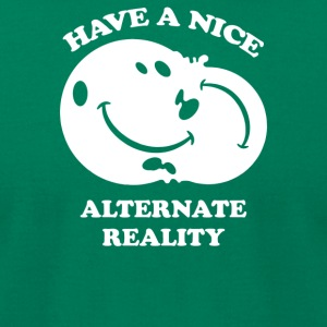 Alternate Reality - Men's T-Shirt by American Apparel