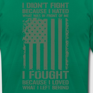US Millitary T-shirts - Men's T-Shirt by American Apparel