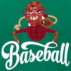 Baseball Funny T-Shirts - Men's T-Shirt by American Apparel