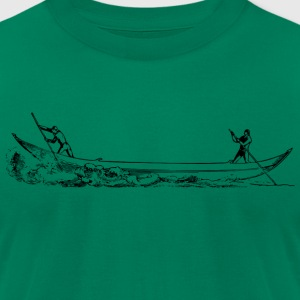 Boat sailing - Men's T-Shirt by American Apparel