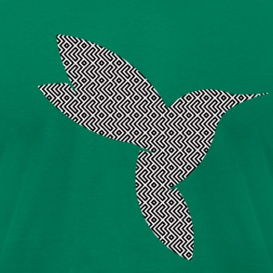 SHIFTERXCHI Hummingbird Logo - Men's T-Shirt by American Apparel