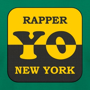 rapper new york - Men's T-Shirt by American Apparel