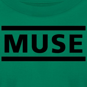 M U S E LOGO shirt - Men's T-Shirt by American Apparel