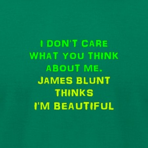 I am beautiful - Men's T-Shirt by American Apparel