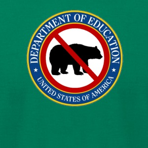 Funny Betsy Devos Bear T Shirt - Men's T-Shirt by American Apparel