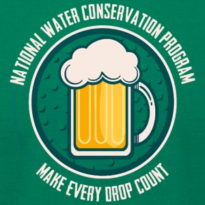 Conserve Water - Men's T-Shirt by American Apparel