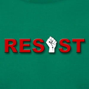 resistee red - Men's T-Shirt by American Apparel
