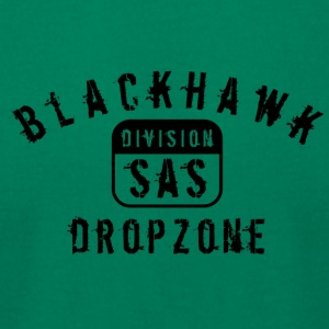 Black hawk drop zone - Men's T-Shirt by American Apparel