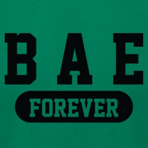 Bae Forever | Romantic, Valentines, Friends, Love - Men's T-Shirt by American Apparel