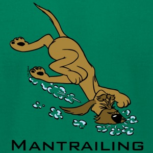 Mantrailing - Men's T-Shirt by American Apparel