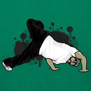 break_dancer - Men's T-Shirt by American Apparel