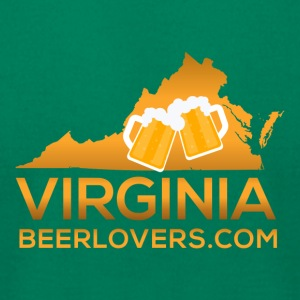 Virginia Beer Lovers - Men's T-Shirt by American Apparel