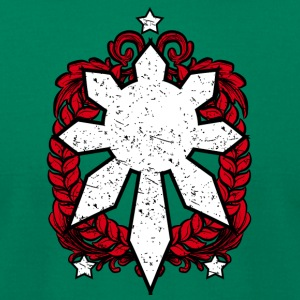 Philippines Emblem. Three Stars and a Sun Design. - Men's T-Shirt by American Apparel