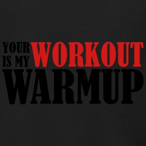 Your Workout Is My Warmup - Men's Zip Hoodie