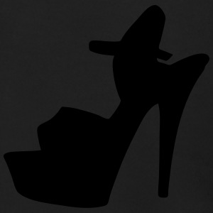 Vector high heels shoes Silhouette - Men's Zip Hoodie
