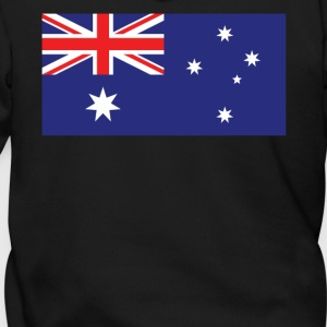 Flag of Australia Cool Australian Flag - Men's Zip Hoodie