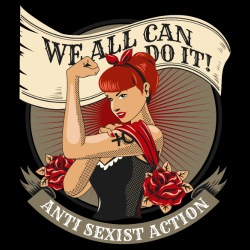 We all can do it! Anti sexist action