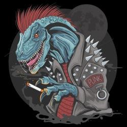 Punk Dinosaur