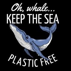Oh, whale... Keep the sea plastic free