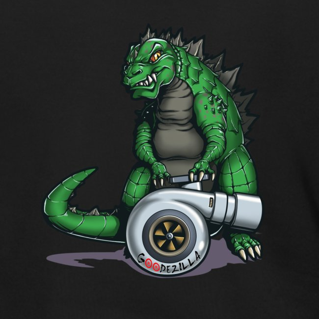 Godzilla Turbo Green