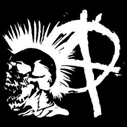 Anarchy Punk Skull