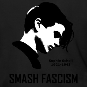 SMASH FASCISM - SOPHIE SCHOLL - Men's Zip Hoodie