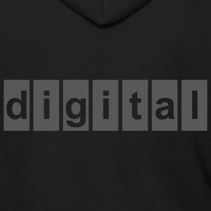 DIGITAL T Shirt - Men's Zip Hoodie