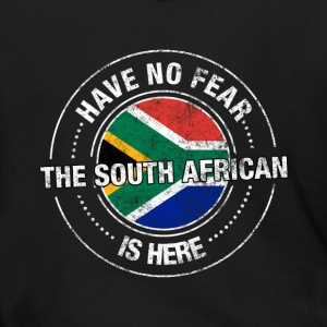 Have No Fear The South African Is Here Shirt - Men's Zip Hoodie