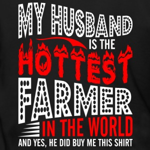My Husband Is The Hottest Farmer - Men's Zip Hoodie