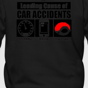 Leading Cause Of Accidents - Men's Zip Hoodie