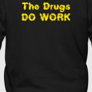 THE DRUGS DO WORK - Men's Zip Hoodie