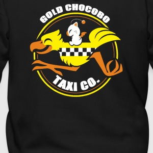 Gold Chocobo Taxi Co - Men's Zip Hoodie